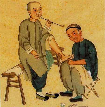 Réflexologie Chine