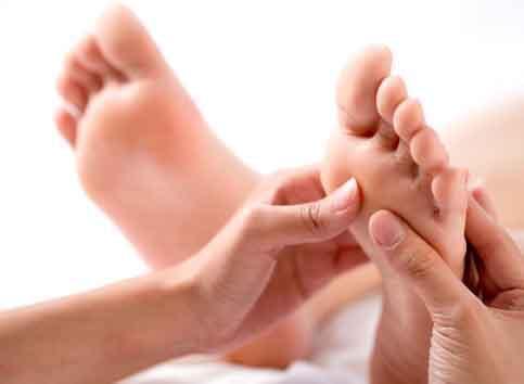 Réflexologie pieds